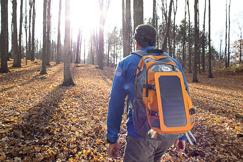 SolarPack Daypack with 6.5 Watt Detachable Solar Panel