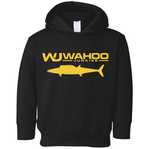 Wahoo Junkies Toddler Black&Gold Fleece Hoodie