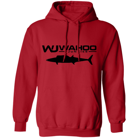 Wahoo Junkies Red/Black Pullover Hoodie 8 oz.