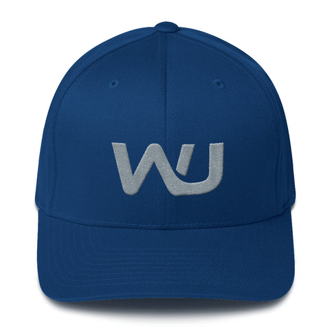 Embroidered Wahoo Junkies Flex Fit Hat