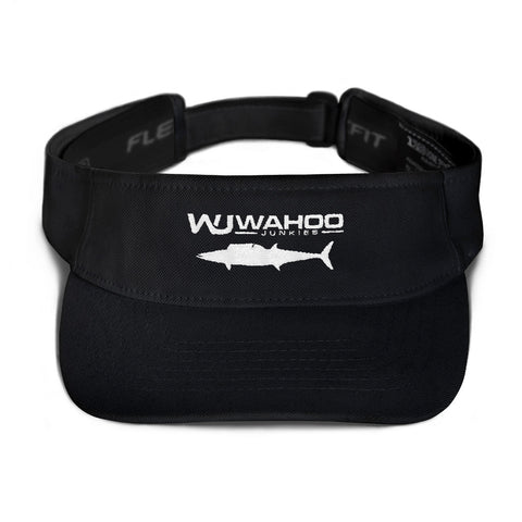 Embroidered Wahoo Junkies Visor