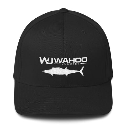 Embroidered Wahoo Junkies FlexFit Hat