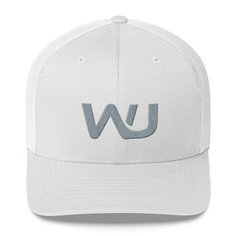 Embroidered Wahoo Junkies Trucker Cap