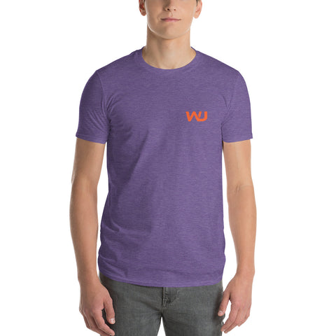Purple/Orange Wahoo Junkies Short-Sleeve T-Shirt