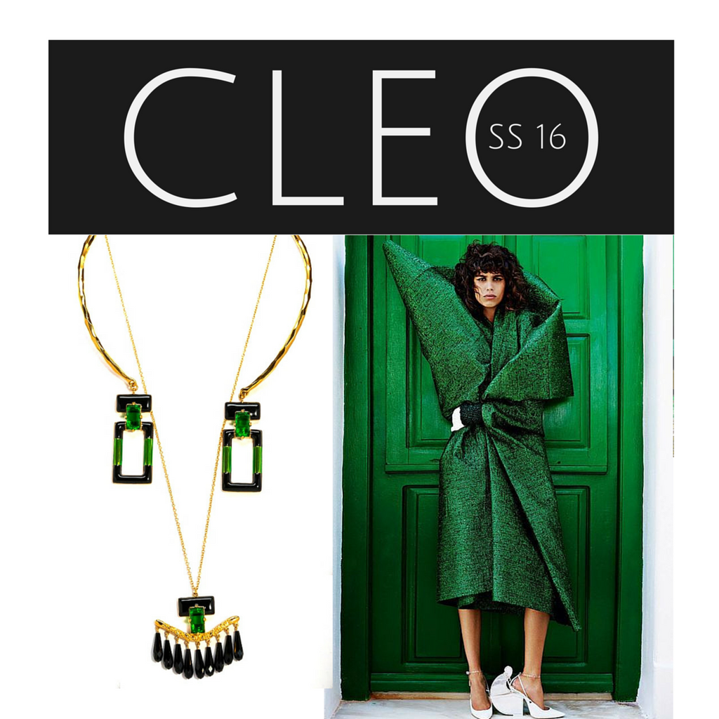 The Cleo Collection - Green Jewel Tone Jewelry