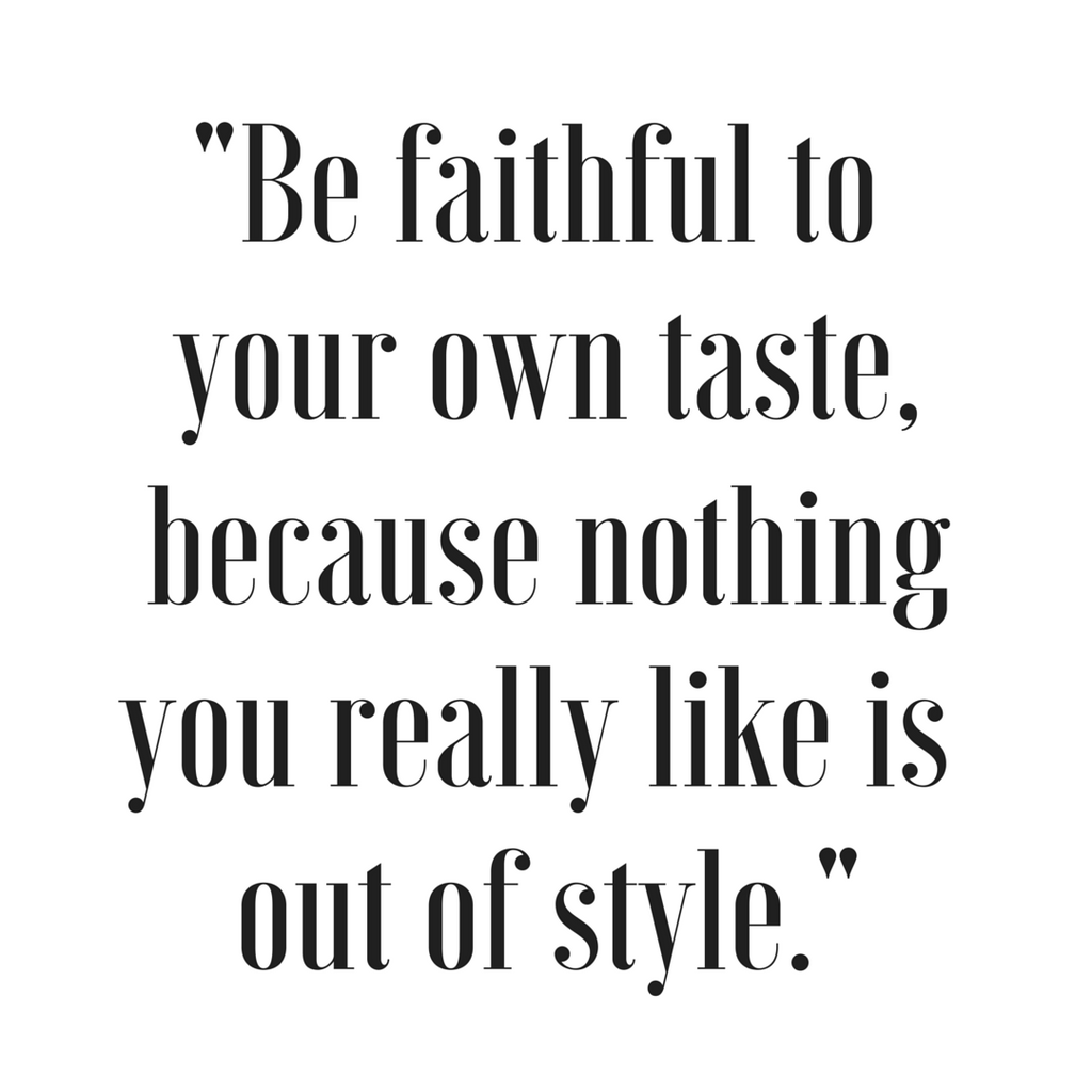Inspirational Quote - Quote About Style