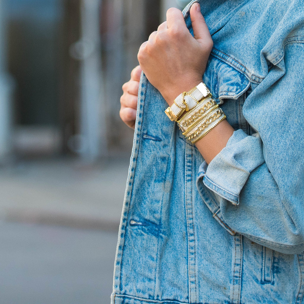 spring summer armparty and bracelets
