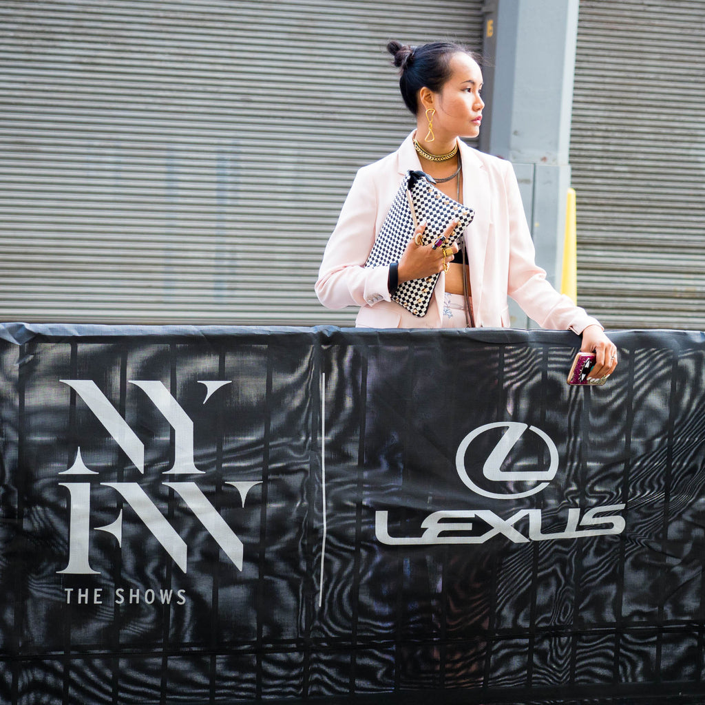 sponsorship of new york fashon week 2017 lexus shooting campaign