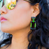 Quadrangle Earrings - SiammPatra - 4