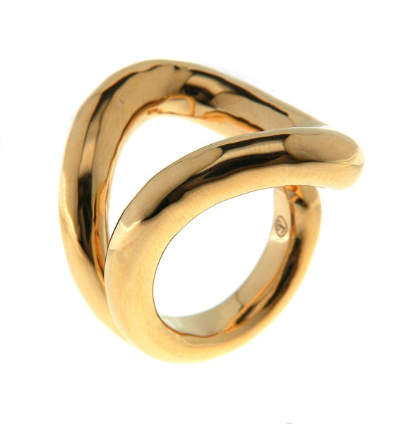 Chain Link Statement Ring Gold - SiammPatra - 1
