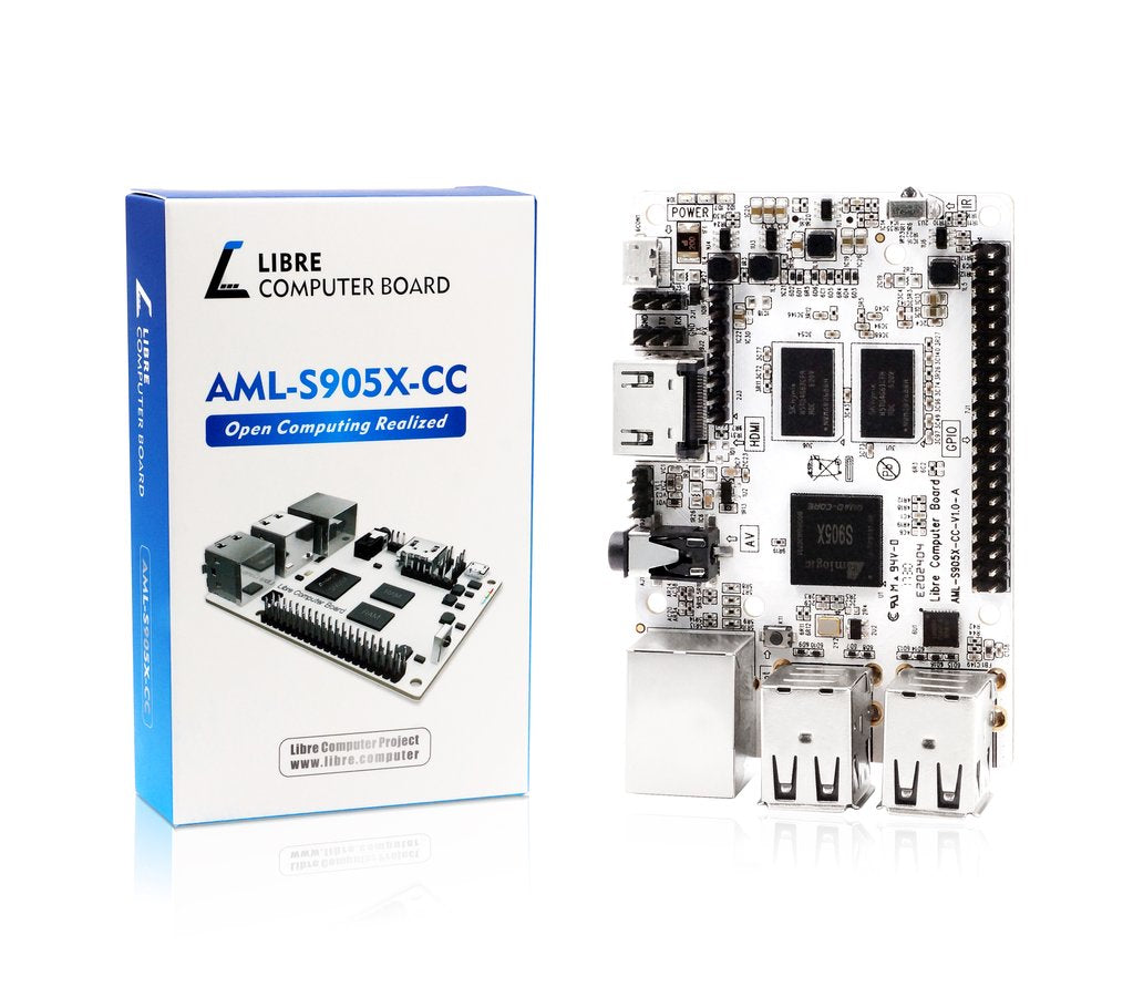 First Look at Libre Computer Board AML-S905X-CC (Le Potato