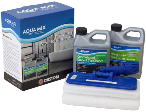 Tile & Stone Maintenance Kit - Aqua Mix® Australia - Online Store