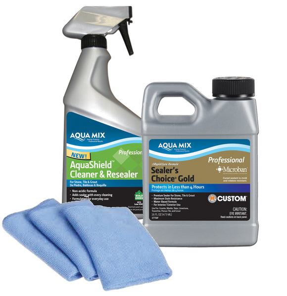 Stone Countertop Sealing Kit Aqua Mix 174 Australia