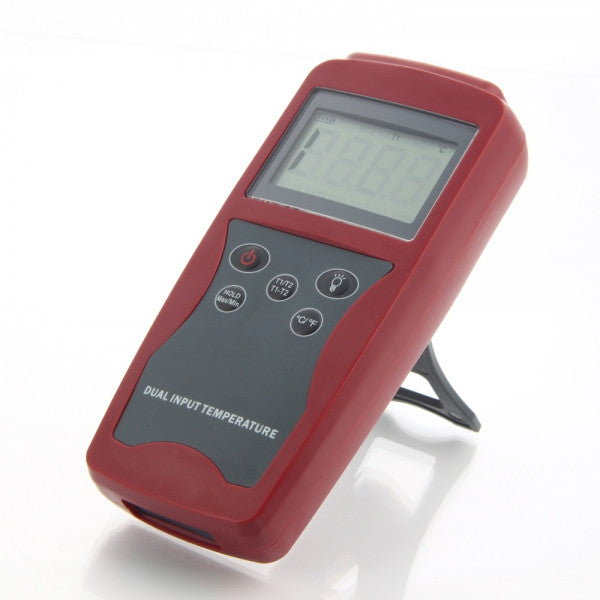 Digital Thermometer K Type 2 K-Type Sensors