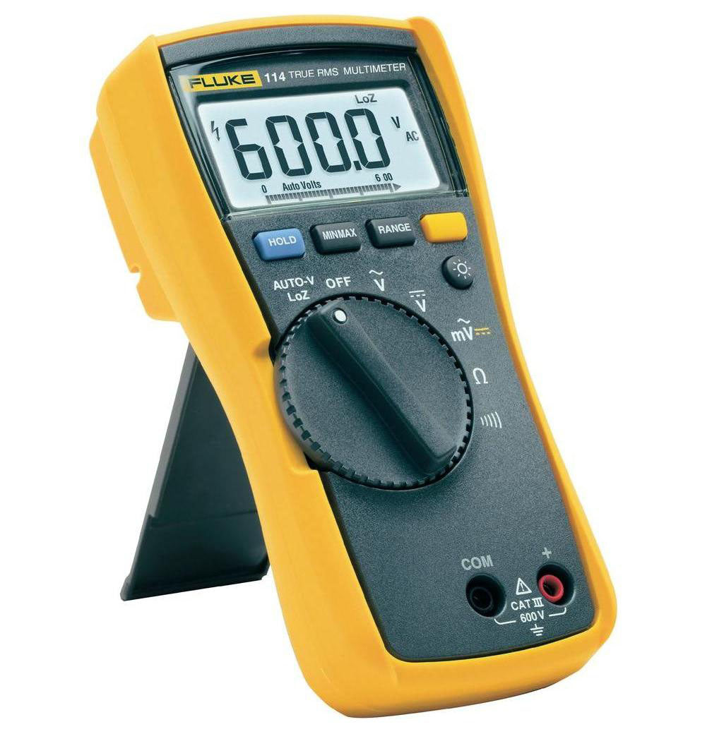 FLUKE 114 TRUE RMS ELECTRICAL MULTIMETER
