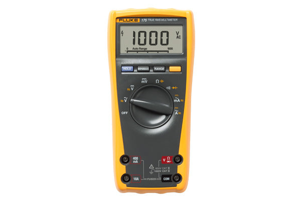 FLUKE 175 TRUE RMS MULTIMETER 1000V;10A