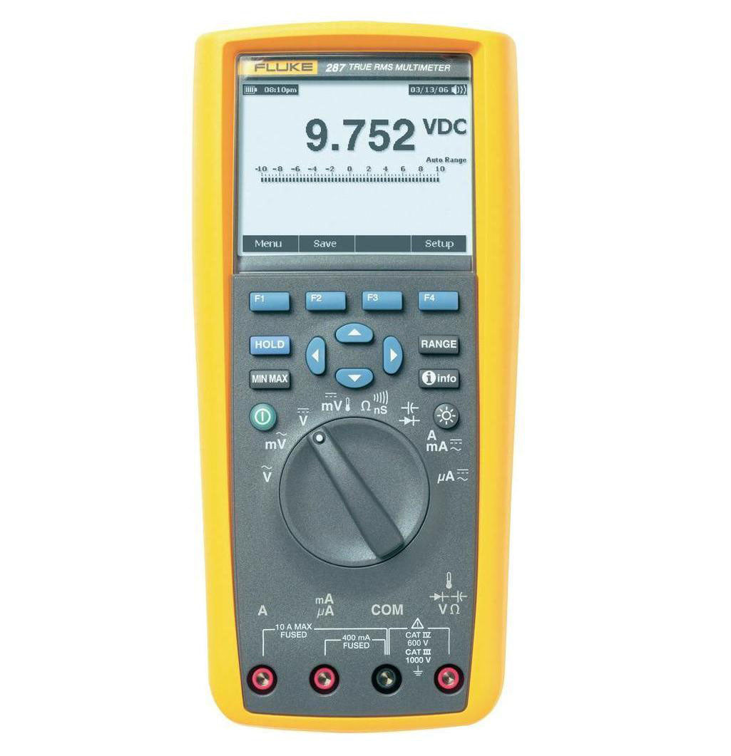 FLUKE 287/EUR TRUE RMS ELECTRONICS LOGGING MULTIMETER WITH TRENDCAPTURE