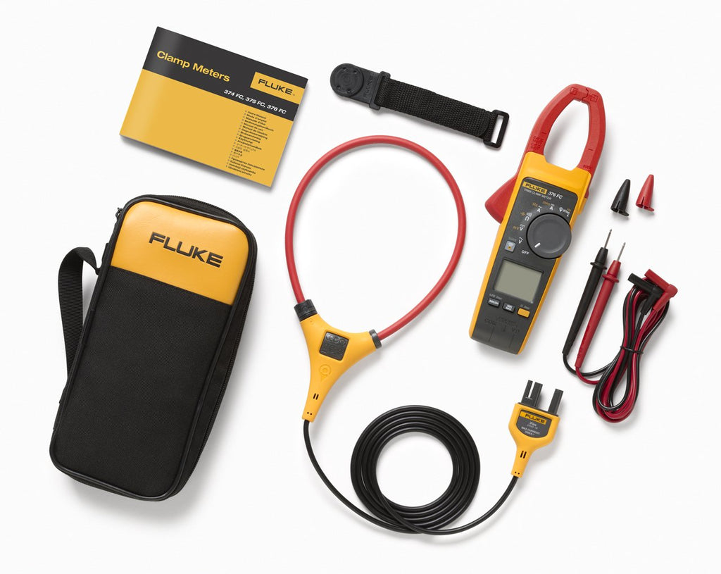 FLUKE 376FC TRUE RMS AC/DC CLAMP METER WITH IFLEX®