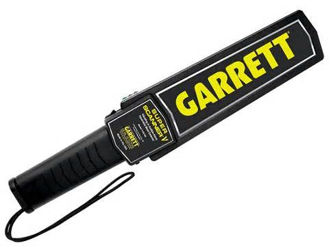 Super Scanner® V Garrett Hand-Held Metal Detector UAE