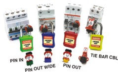 CONVENTIONAL MINIATURE CIRCUIT BREAKER LOCKOUTS