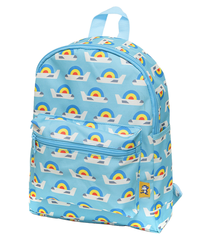 Backpack - Airplanes Sky Blue