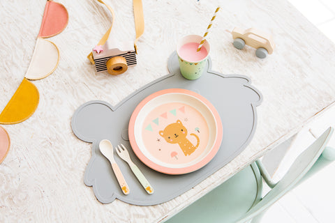 Koala Face Shaped Placemat
