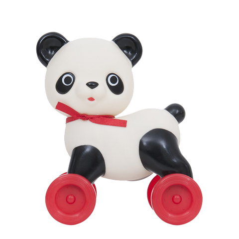 Setsu Chan Push Along Panda on Wheels