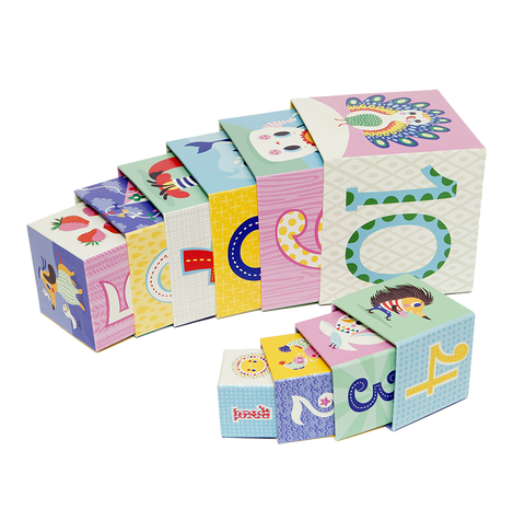 Stacking Blocks - Set of 10