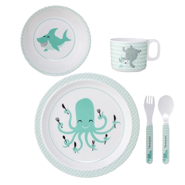 Axel Melamine Tableware Set