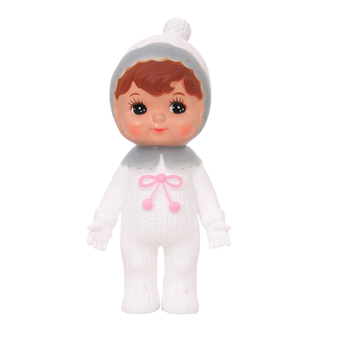 Woodland Doll Bobble White & Grey