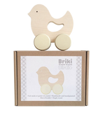 Push Along Toy Wooden Birdie