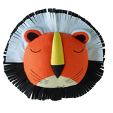 Funny Faces Lion Felt Wall Hanging