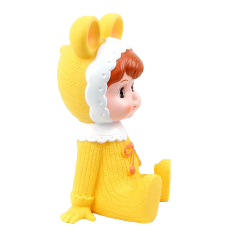 Woodland Doll Money Box - Yellow