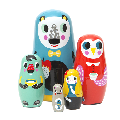 Nesting Dolls - Woodland Friends