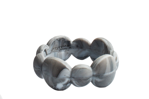 Jellystone Pebble Silicone Bangle