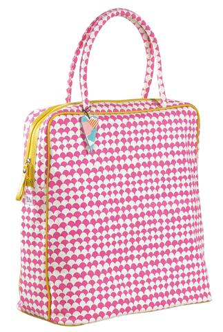 Baby Diaper Bag - Peixe Rose
