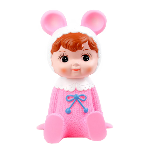 Woodland Doll Money Box - Pink