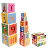 Colourful Creatures Stacking Blocks Set of 10