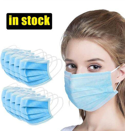 Medical Surgical Face Mask(Disposable 50-pack)