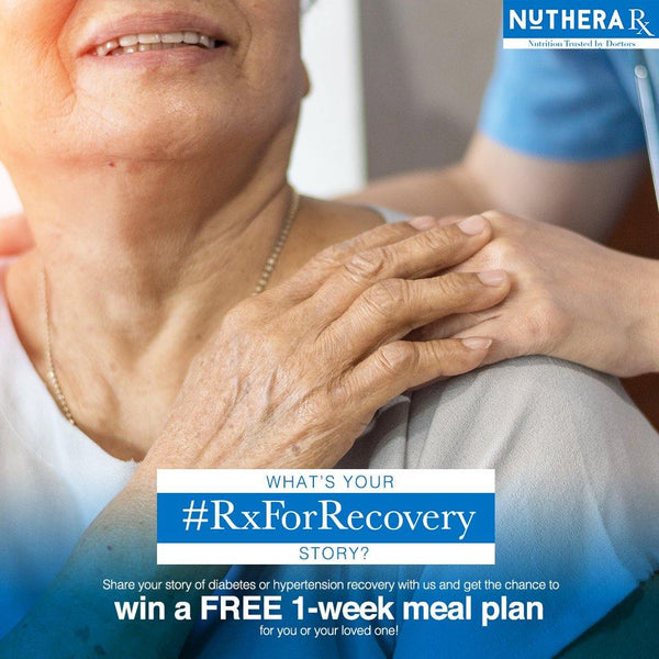Win a FREE one (1) week Rx meal plan for you or your loved one!