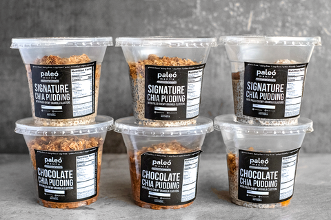 Signature Nutty Chia Pudding — Assorted Sampler Pack (6 pcs, multiple flavors) - Paleo Manila®