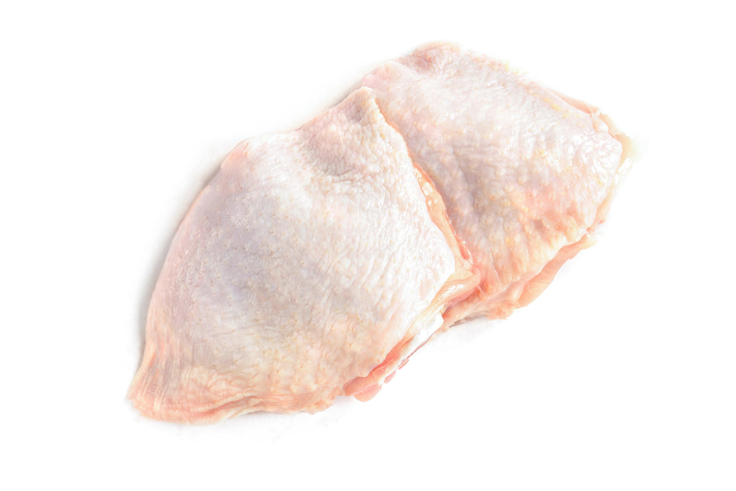 Chicken thigh, fillet, with skin