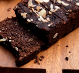 Gluten-free Dark Chocolate Banana Bread in Gift Box
