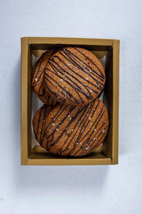 Gift Set - Malagos Dark Chocolate Chip + Cashew Butter Cookies (12's)