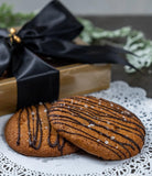 Gluten-Free Malagos Dark Chocolate Chip Cookies (In 2's and Gift Box of 6's)