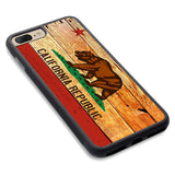 Wooden California Phone Case