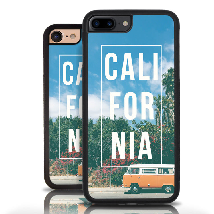Attractive California Palm Trees Hippie VW Phone Case – Nu-Age Cases HC52