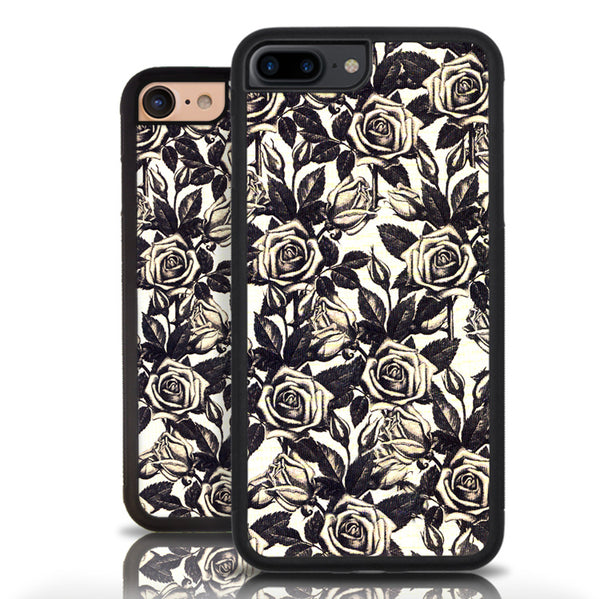 Iphone 7 Floral Rose Pattern Case