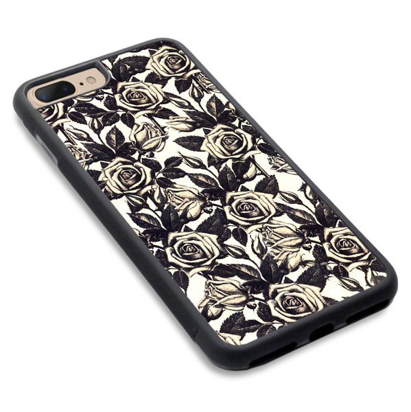 Iphone 7 Plus Floral Rose Pattern Case