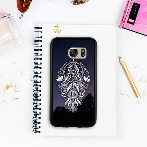 Galaxy S7 Edge Case Galaxy S7 Case Lace Dream Catcher Galaxy S6 Case Feathers Tribal Dream Catcher Galaxy S6 Edge Plus Case Christmas Gift